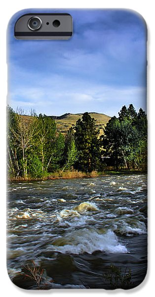 Spring Flow iPhone Case by Robert Bales