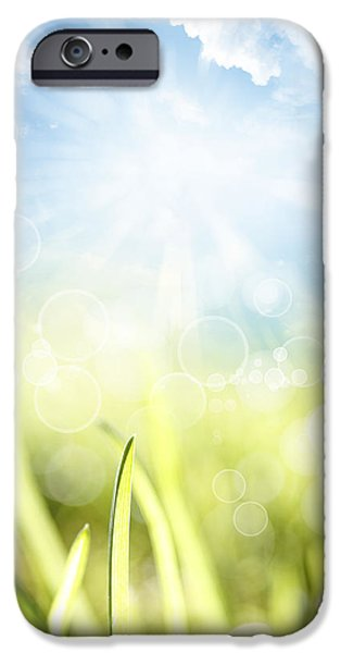 Springtime iPhone Case by Les Cunliffe