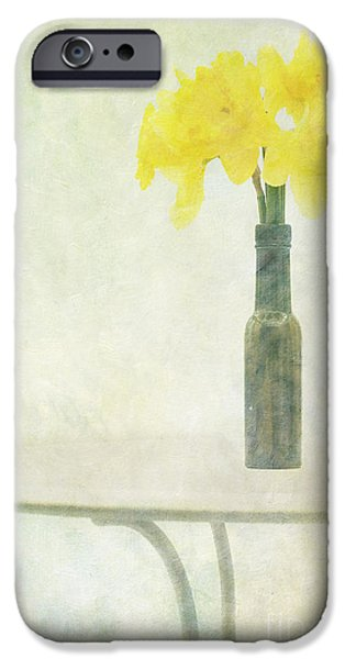 """""""textured Art"""" iPhone Cases - Springtime iPhone Case by Marion Galt"""
