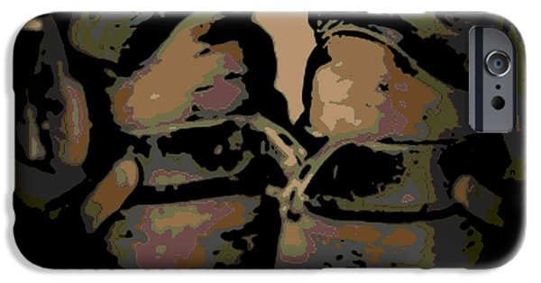Old Jewelry iPhone Cases - Spurs iPhone Case by George Pedro