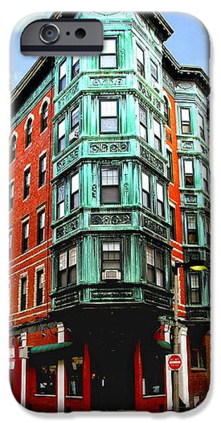 Square in old Boston iPhone Case by Elena Elisseeva