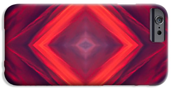 Symetry iPhone Cases - Square Sky Sunset iPhone Case by  Onyonet  Photo Studios