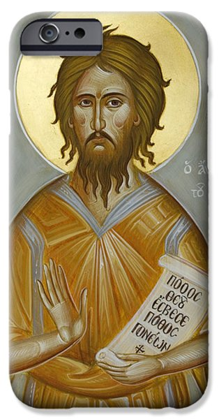 St Alexios the Man of God iPhone Case by Julia Bridget Hayes