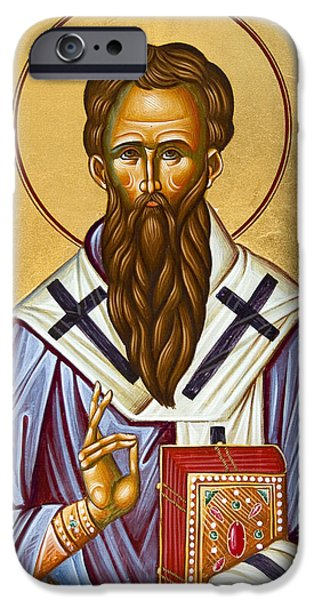 St Basil the Great iPhone Case by Julia Bridget Hayes