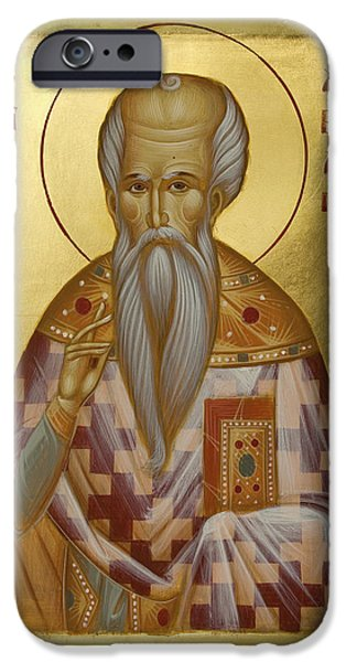 St Charalambos iPhone Case by Julia Bridget Hayes