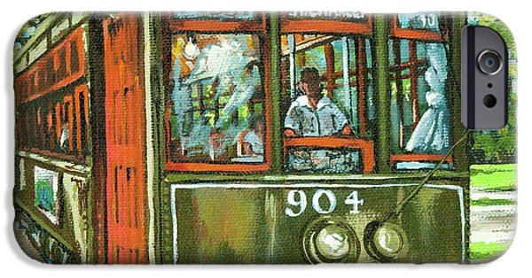 French Quarter Paintings iPhone Cases - St. Charles No. 904 iPhone Case by Dianne Parks