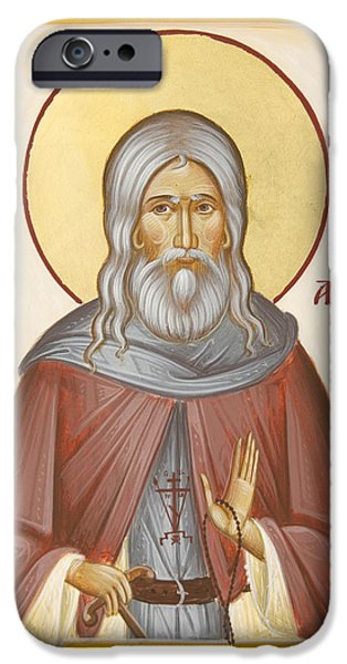 St Herman of Alaska iPhone Case by Julia Bridget Hayes