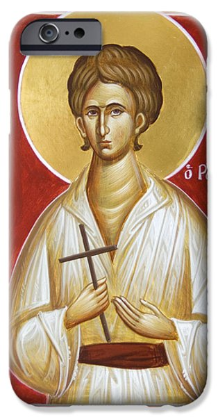 St John The Russian iPhone Cases - St John the Russian iPhone Case by Julia Bridget Hayes