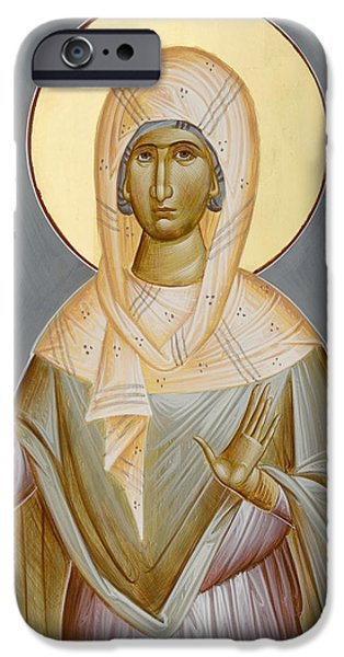 St Kyriaki iPhone Case by Julia Bridget Hayes