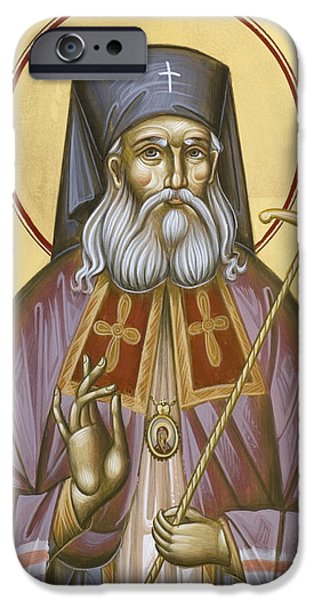 St Luke the Surgeon of Simferopol iPhone Case by Julia Bridget Hayes