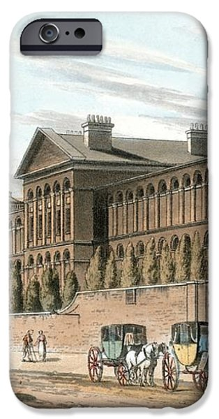 St Luke's Hospital For Lunatics, London iPhone Case by Miriam And Ira D. Wallach Division Of Art, Prints And Photographsnew York Public Library