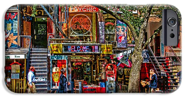 East Village Photographs iPhone Cases - St Marks Place iPhone Case by Chris Lord