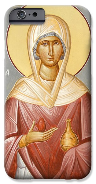 St Mary Magdalene iPhone Case by Julia Bridget Hayes