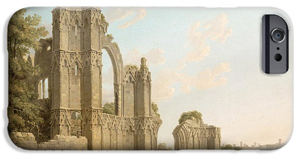 Remains iPhone Cases - St Marys Abbey -York iPhone Case by Michael Rooker