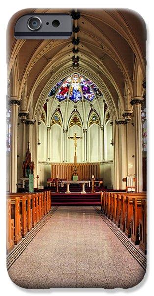 St. Mary's Basilica Halifax iPhone Case by Kristin Elmquist