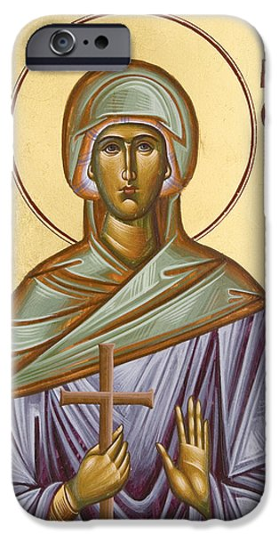 St Paraskevi iPhone Case by Julia Bridget Hayes