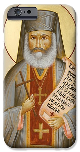 St Philoumenos of Jacob's Well iPhone Case by Julia Bridget Hayes