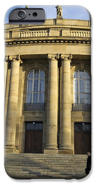 Staatstheater State Theater Stuttgart Germany iPhone Case by Matthias Hauser