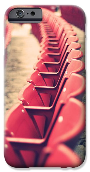 The Redsox iPhone Cases - Stadium Seating iPhone Case by Vinnie Finn