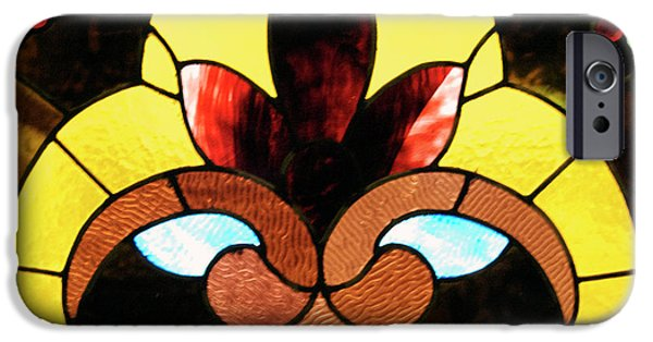 Building Glass iPhone Cases - Stained Glass LC 07 iPhone Case by Thomas Woolworth