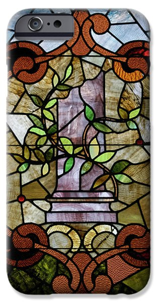 Stained Glass LC 12 iPhone Case by Thomas Woolworth