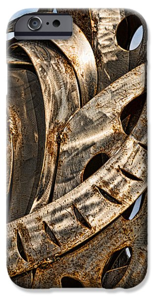 Stainless Steel iPhone Cases - Stainless Abstract iPhone Case by Christopher Holmes