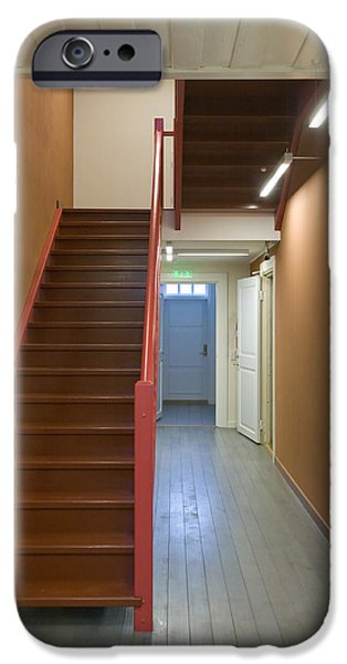 Staircase In Old Building iPhone Case by Jaak Nilson