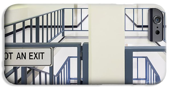 Asymmetrical iPhone Cases - Staircase Railing iPhone Case by Andersen Ross