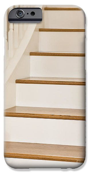 Stairs and Apple iPhone Case by Andersen Ross