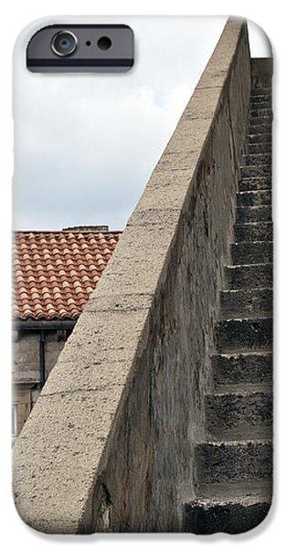 Stairway in Dubrovnik iPhone Case by Madeline Ellis