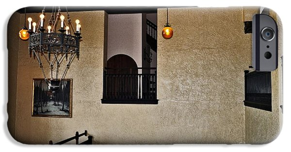 Staris iPhone Cases - Stairways and Bannisters ..Casa Loma iPhone Case by Elaine Manley