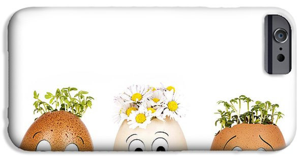Concept Photographs iPhone Cases - Stand out from the crowd iPhone Case by Jane Rix