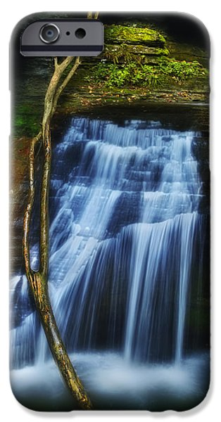 Ithaca iPhone Cases - Standing In Motion iPhone Case by Evelina Kremsdorf