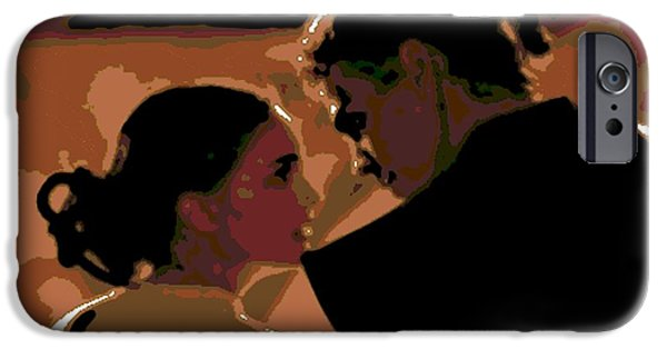 Recently Sold -  - Drama iPhone Cases - Star Crossed Lovers iPhone Case by George Pedro