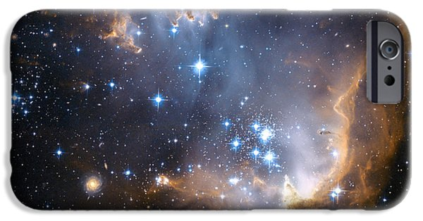 Recently Sold -  - Abnormal iPhone Cases - Starbirth Region Ngc 602 iPhone Case by Hubble Heritage Teamnasaesastsciaura