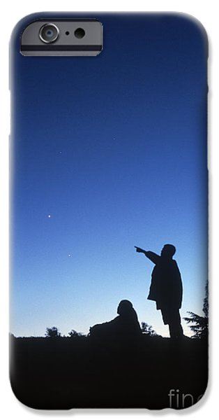Stargazing iPhone Cases - Stargazing iPhone Case by Science Source