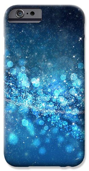 stars and bokeh iPhone Case by Setsiri Silapasuwanchai