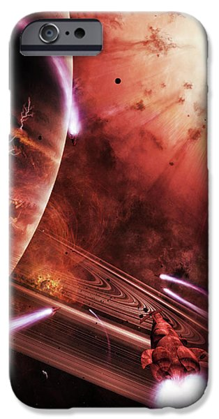 Virtual iPhone Cases - Starships Hone Their Skills iPhone Case by Brian Christensen