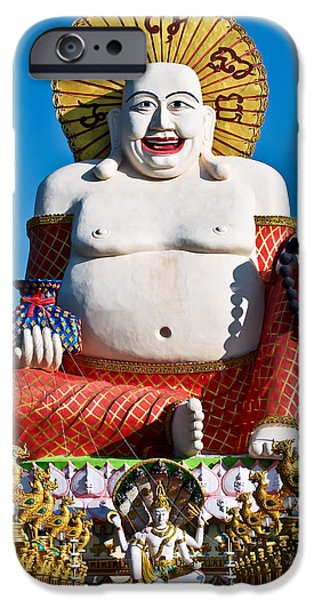 statue of shiva iPhone Case by Adrian Evans