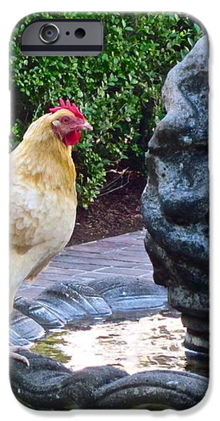 Statuesque iPhone Case by Gwyn Newcombe