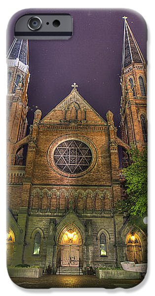 Ste. Anne de Detroit iPhone Case by Nicholas  Grunas