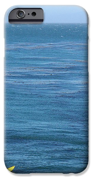 Steamer Lane iPhone Cases - Steam Lane Surfer iPhone Case by Ty Helbach