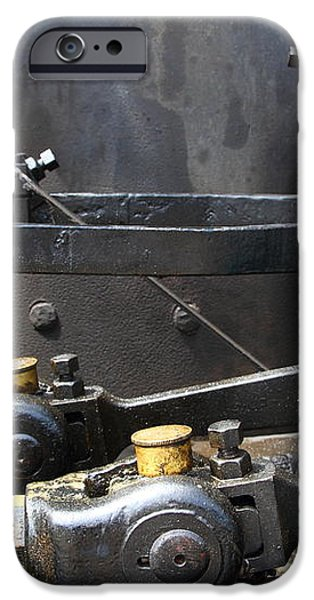 Steam Roller Engine Gizmos 7d15114 iPhone Case by Wingsdomain Art and Photography