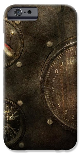 Steampunk - Check your pressure iPhone Case by Mike Savad