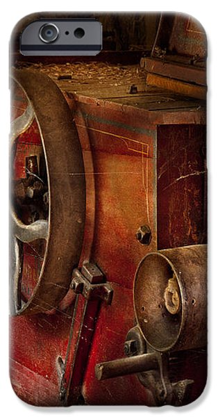 Steampunk - Gear - It used to work iPhone Case by Mike Savad