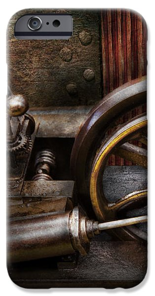 Steampunk - The Contraption iPhone Case by Mike Savad
