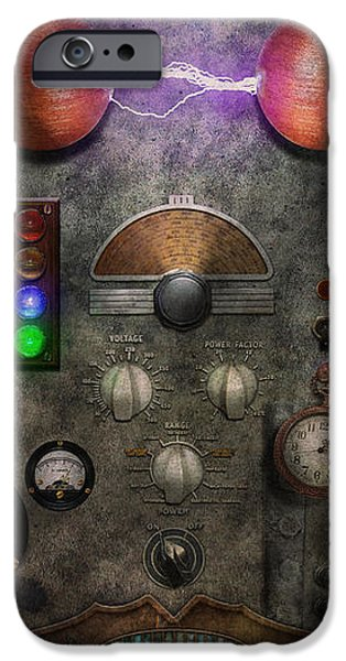 Steampunk - The Modulator iPhone Case by Mike Savad