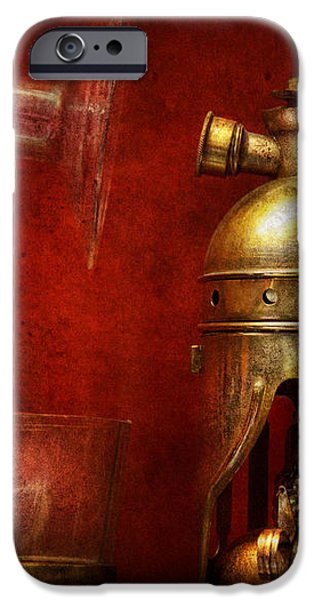 Steampunk - The Torch iPhone Case by Mike Savad