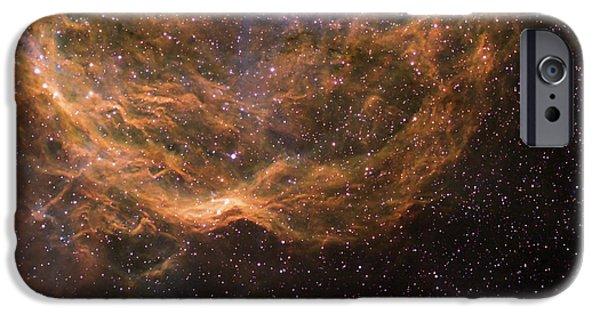 Stellar iPhone Cases - Stellar Winds Around Wolf-rayet Star 23 iPhone Case by Don Goldman