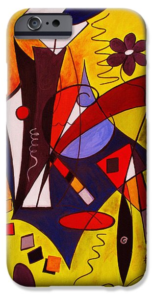 Step Lively Now iPhone Case by Ruth Palmer